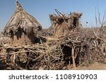 dwellings and villages of... | Shutterstock . vector #1108910903