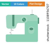 modern sewing machine icon.... | Shutterstock .eps vector #1108956707