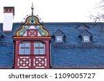 reconstructed half timpered... | Shutterstock . vector #1109005727