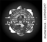 a true love story never ends... | Shutterstock .eps vector #1109045297