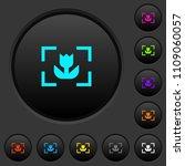 camera macro mode dark push... | Shutterstock .eps vector #1109060057