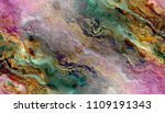 multicolored creative abstract... | Shutterstock . vector #1109191343