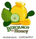 vector illustration of honey... | Shutterstock .eps vector #1109264957