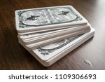 photo cards for fortune telling ... | Shutterstock . vector #1109306693