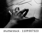 photo big dark tarot cards.... | Shutterstock . vector #1109307323