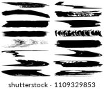 vector collection of artistic... | Shutterstock .eps vector #1109329853