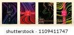 digital marble cover design for ... | Shutterstock .eps vector #1109411747