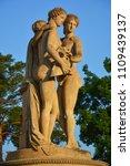 statue of three graces in... | Shutterstock . vector #1109439137