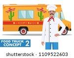 flat design vector illustration ... | Shutterstock .eps vector #1109522603