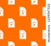 file mp3 pattern repeat... | Shutterstock . vector #1109547533