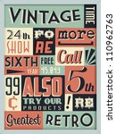 retro vintage background with