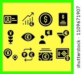 business icons set of...