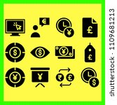business icons set of hundred ...