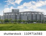 agricultural silos   building...   Shutterstock . vector #1109716583