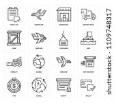 set of 16 icons such as wallet  ...