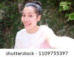 selfie asian woman  self...   Shutterstock . vector #1109755397
