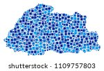 bhutan map collage of random... | Shutterstock .eps vector #1109757803