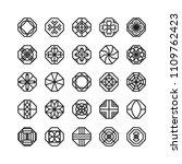 octagon geometric vector icon   ...   Shutterstock .eps vector #1109762423