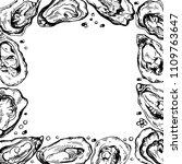 sketch frame illustration of... | Shutterstock . vector #1109763647