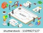 flat isometric vector concept... | Shutterstock .eps vector #1109827127