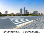 panoramic skyline and buildings ... | Shutterstock . vector #1109850863
