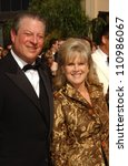 Small photo of Al Gore and Tipper Gore arriving at the 59th Annual Primetime Emmy Awards. The Shrine Auditorium, Los Angeles, CA. 09-16-07