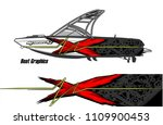 boat decal graphic vector for...   Shutterstock .eps vector #1109900453