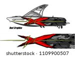 boat decal graphic vector for...   Shutterstock .eps vector #1109900507
