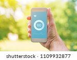 heartbeat measuring app for... | Shutterstock . vector #1109932877