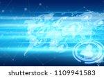 social network concept | Shutterstock . vector #1109941583