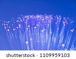 optical fiber network cable.... | Shutterstock . vector #1109959103