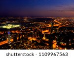 evening and night view to the... | Shutterstock . vector #1109967563