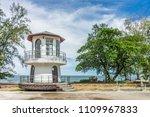 small lighthouse at nang thong... | Shutterstock . vector #1109967833