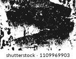 black grainy texture isolated... | Shutterstock .eps vector #1109969903