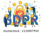 concept of general data... | Shutterstock .eps vector #1110007943
