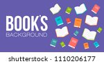 books banner vector illustration | Shutterstock .eps vector #1110206177