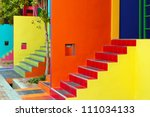 Colorful Housing Ladder.