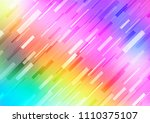 light multicolor  rainbow... | Shutterstock .eps vector #1110375107