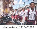 bali  indonesia   may 23  2018  ... | Shutterstock . vector #1110401723