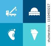 modern  simple vector icon set... | Shutterstock .eps vector #1110403217