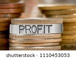 photo of various stacks and... | Shutterstock . vector #1110453053