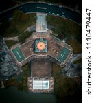 Small photo of Aerial of a Conservatory in Chicago