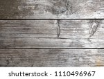 old weathered rustic brown... | Shutterstock . vector #1110496967