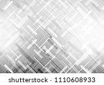light silver  gray vector... | Shutterstock .eps vector #1110608933