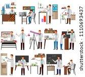 vector illustration of set of... | Shutterstock .eps vector #1110693437