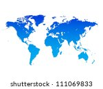 world map  world background | Shutterstock . vector #111069833