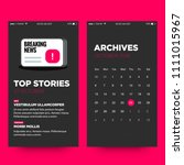 news app ux ui design for smart ...