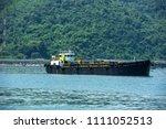 oil tanker  gas tanker in the... | Shutterstock . vector #1111052513