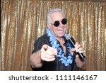 a man sings a song. a man sings ...   Shutterstock . vector #1111146167