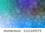 light blue  green vector... | Shutterstock .eps vector #1111169273
